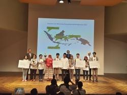 Gewinner mit Kulturminister und Bothschafter