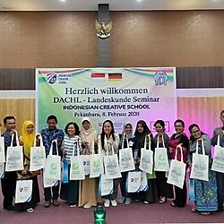 die Teilnehmer von dem DACHLseminar in Pekanbaru